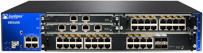 Thiết bị Switch – Router – Firewall Juniper SRX-550